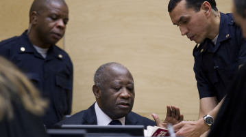 Initial appearance of Laurent Koudou Gbagbo before the ICC, 5 December 2011